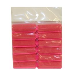 240 Units of 12pc Sponge Hair Rollers 2x6cm - Hair Rollers