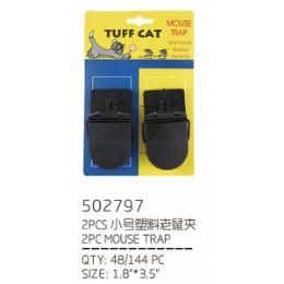144 Units of 2 Piece Mouse Trap - Pest Control