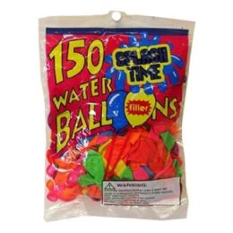 144 Units of 150 Count Water Ballon With Filler - Balloons & Balloon Holder