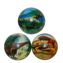 144 Units of 10in Pvc Dinosaur Ball - Balls