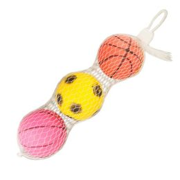 120 Units of 3pc Small Ball In Net Bag - Balls