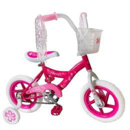 3 Units of Pink Kismo 12 Inch Bicycle w/ Training Wheels - Biking