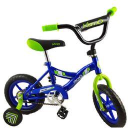 3 Units of Blue Kismo 12 Inch Bicycle W/ Training Wheels - Biking