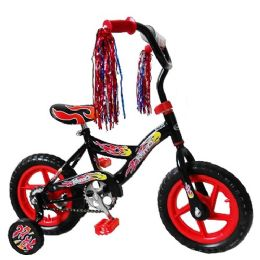 3 Units of Flame Kismo 12 Inch Bicycle w/ Training Wheels - Biking