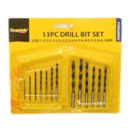 96 Units of 13PC DRILL BIT SET - Drills and Bits