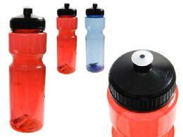 144 Units of Sport Water Bottle Pink ,Blue Clr - Drinking Water Bottle