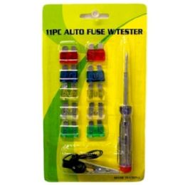72 Units of Auto Fuse with Tester - Auto Maintenance