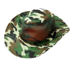 144 Units of Army Camo Hat - Cowboy & Boonie Hat