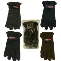 240 Units of FASHION GLOVES ASST COLORS - Knitted Stretch Gloves