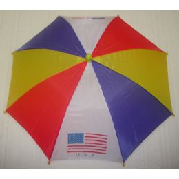 """120 Units of 13"""" Umbrella Hat For Sun Protection - Sun Hats"""