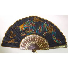 120 Units of Embroidered Fan - Home Decor