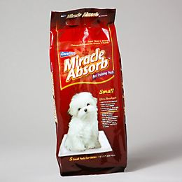 96 Units of Miracle Absorb Pet Training Pads Small - Pet Accessories