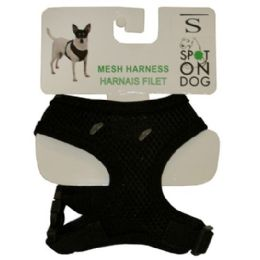 24 Units of Xtra Small Soft Harness Asst Colors - Pet Accessories