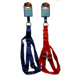 120 Units of Dog Harness 2.5cm Asst Colors - Pet Collars and Leashes