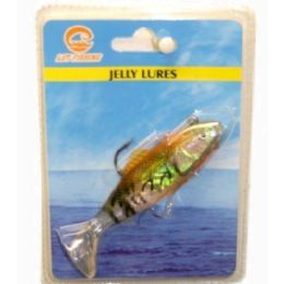 180 Units of Jelly Lures 10cm 3-4 Design Mix Color - Fishing Items