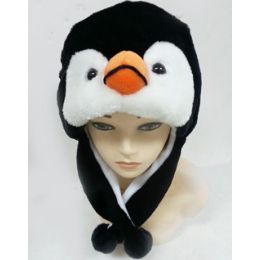 36 Units of Penquin Animal Winter Hat - Winter Animal Hats