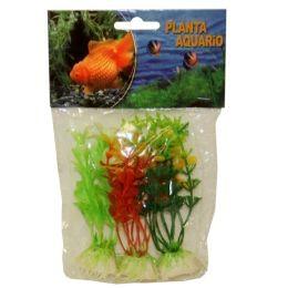 240 Units of Plastic Plant Medium Size Assorted Colors - Animals & Reptiles
