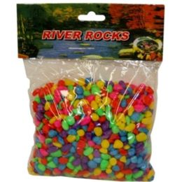 96 Units of Fish Tank Gravel Mix Colors 500g - Animals & Reptiles
