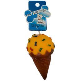 120 Units of Squeeze Toy Ice Cream 12cm - Pet Toys