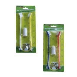 96 Units of 2 Piece Dog Toothbrush Set - Pet Supplies