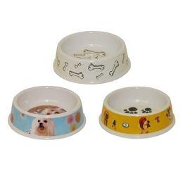 96 Units of Pet Bowl Melamine - Pet Accessories