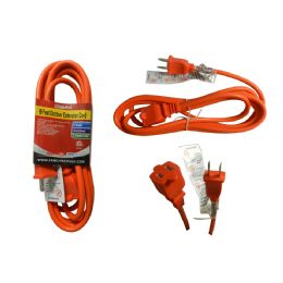 36 Units of 9 Foot Outdoor Extension Cord - Chargers & Adapters