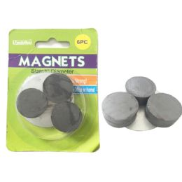144 Units of 6 Piece Magnets - Refrigerator Magnets