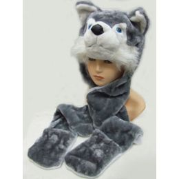 36 Units of Animal HaT-Fox - Winter Animal Hats
