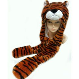 36 Units of Animal HaT- Tiger - Winter Animal Hats