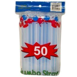 96 Units of 50pc Jumbo Straw - Straws and Stirrers