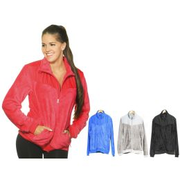 12 Units of Women's Fur Polar Fleece Jacket - Women's Winter Jackets