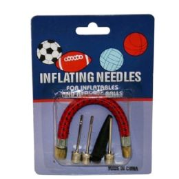 288 Units of 5 Piece Inflating Needle Set - Biking