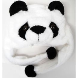 48 Units of Kids' Animal HaT-Panda - Winter Animal Hats