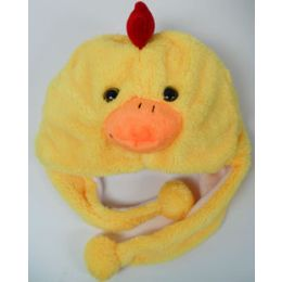 48 Units of Kids' Animal HaT-Chick - Winter Animal Hats