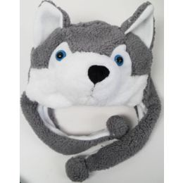 48 Units of Kids' Animal HaT-Fox - Winter Animal Hats