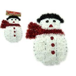 96 Units of Christmas Snowmen Garland - Christmas Ornament