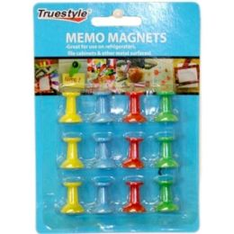 96 Units of 12pc Memo Magnets - Sewing Supplies