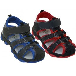 24 Units of Todder's Hiker Sandals - Boys Flip Flops & Sandals