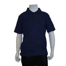 72 Units of Boys School Polo Shirts Assorted Sizes - Boys T Shirts