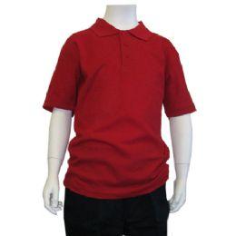 72 Units of Boys School Polo Shirts - Boys T Shirts