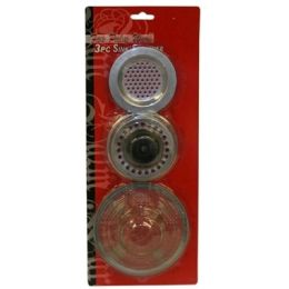 144 Units of 3 PIECE SINK STRAINER - Plumbing Supplies