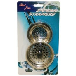 144 Units of 2 PIECE SINK STRAINER - Plumbing Supplies