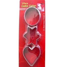 144 Units of DAILY COOKIE CUTTER - Baking Supplies