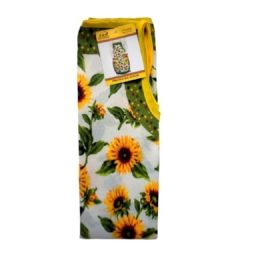 72 Units of SUN FLOWER STYLE APRON 22X32IN - Kitchen Aprons