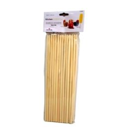 96 Units of 50piece Apple And Corn Bamboo Skewers - BBQ supplies