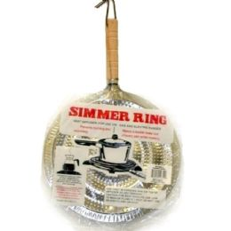 144 Units of Simmer Ring With Wooden Handle 21cm - Kitchen Gadgets & Tools