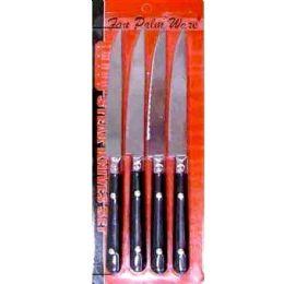 144 Units of 4pc Steak Knives Set - Kitchen Knives