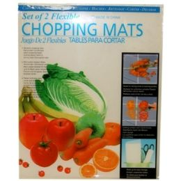 96 Units of 2piece Flexiable Chopping Mat 30x38cm - Kitchen Gadgets & Tools