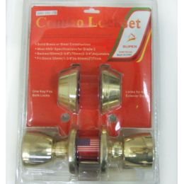 24 Units of Double Deadbolt Combo Door Lock - Doors
