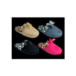 72 Units of Women's Winter Printed Slippers - Women's Slippers